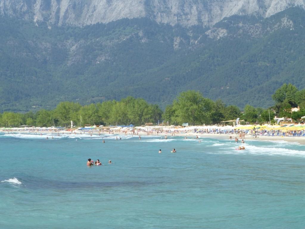Greece, Island of Thassos, Golden Bay, 2013 27110