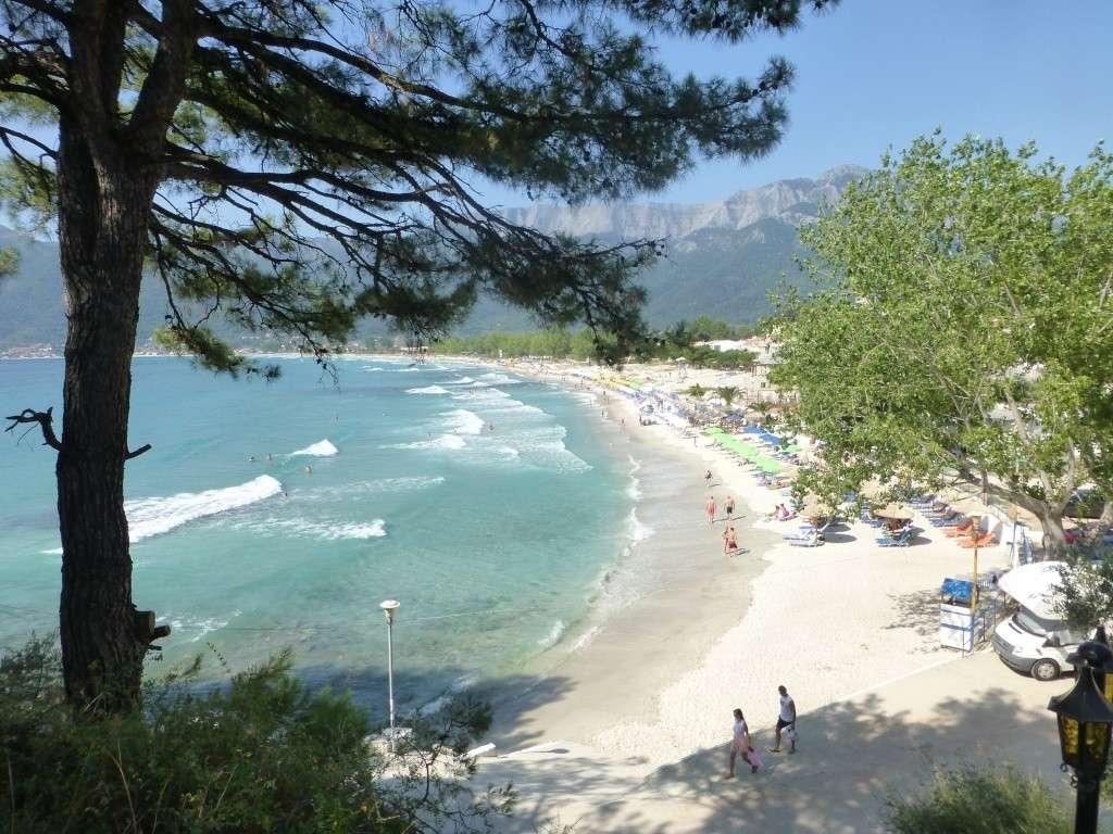 Greece, Island of Thassos, Golden Bay, 2013 27710