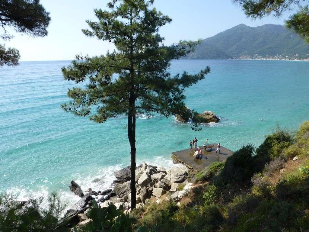 Greece, Island of Thassos, Golden Bay, 2013 27910