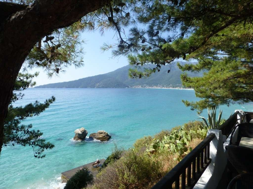 Greece, Island of Thassos, Golden Bay, 2013 28510