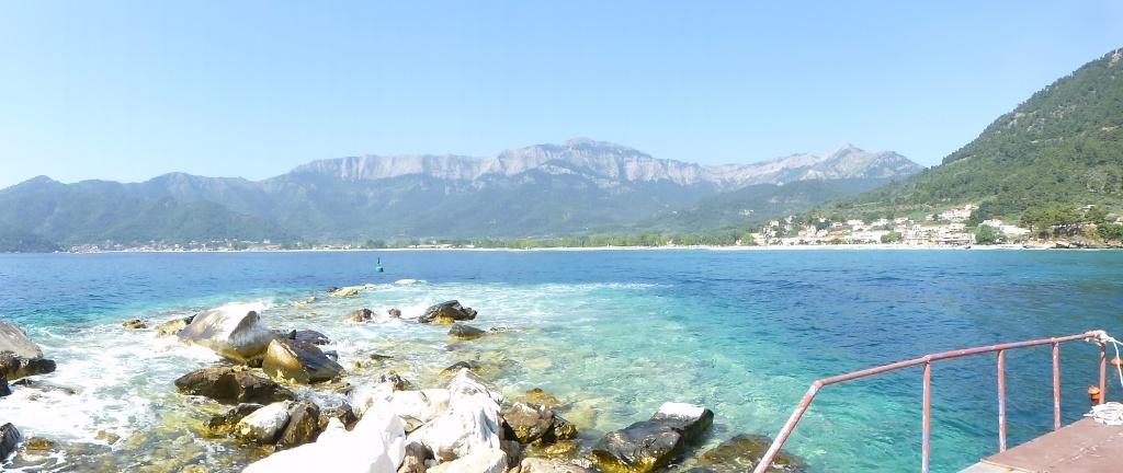 Greece, Island of Thassos, Golden Bay, 2013 29210