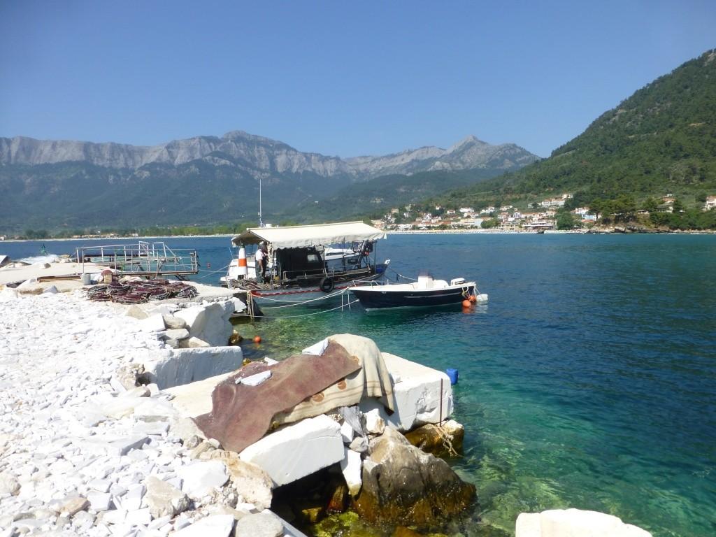 Greece, Island of Thassos, Golden Bay, 2013 29810