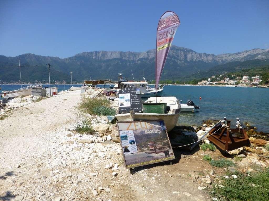 Greece, Island of Thassos, Golden Bay, 2013 30211