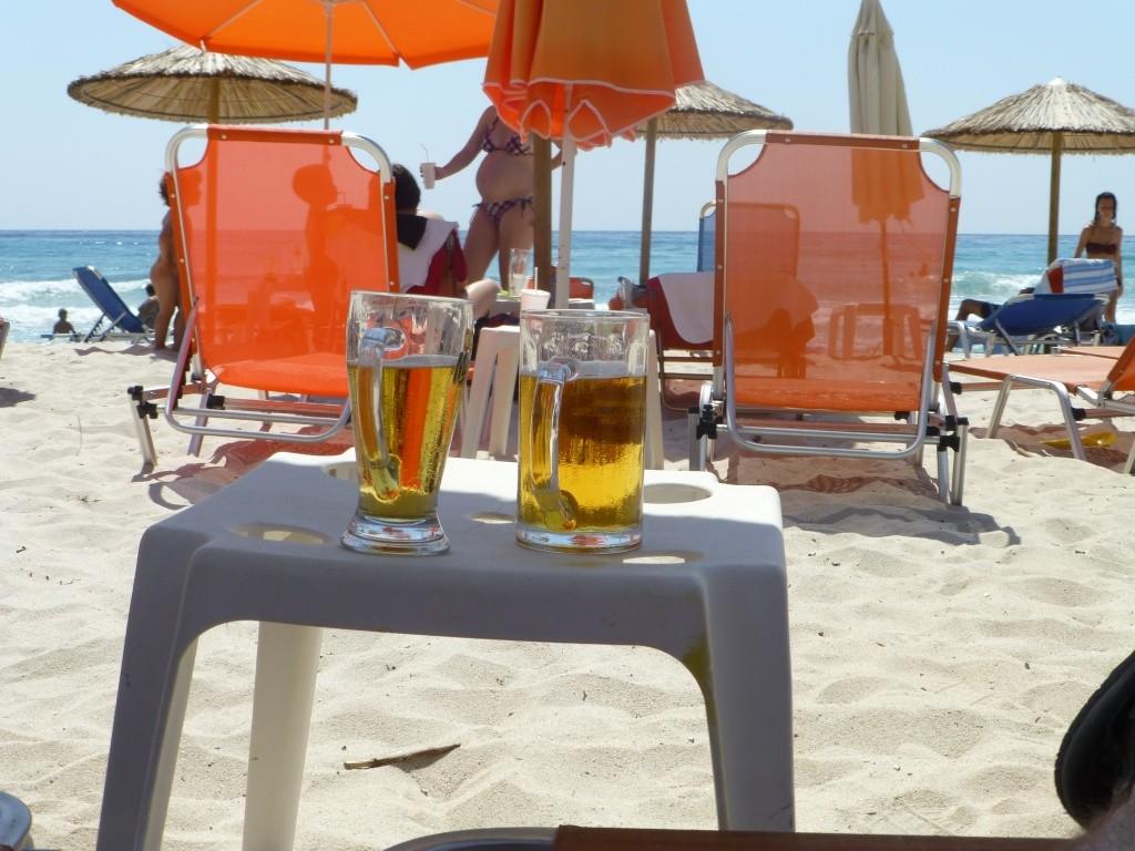 Greece, Island of Thassos, Golden Bay, 2013 33410