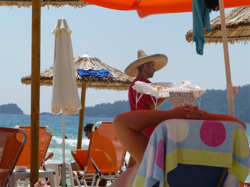 Greece, Island of Thassos, Golden Bay, 2013 39910