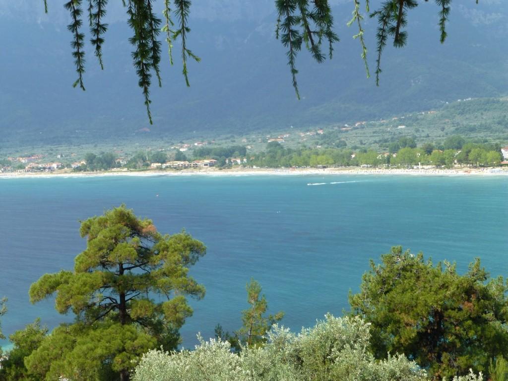 Greece, Island of Thassos, Golden Bay, 2013 47710