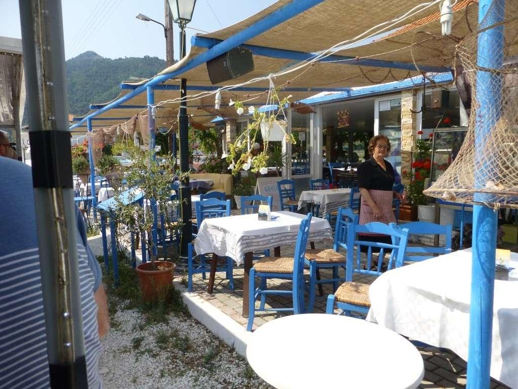 Greece, the Island of Thassos, Golden Beach, MiniTrain trip 56010