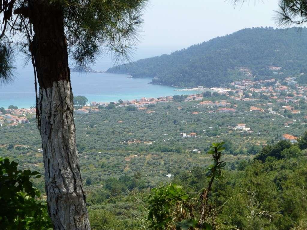 Greece, the Island of Thassos, Golden Beach, MiniTrain trip 60510