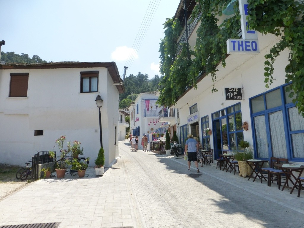 Greece, the Island of Thassos, Golden Beach, MiniTrain trip 61210