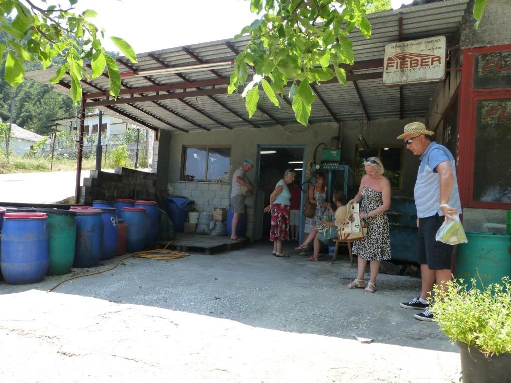 Greece, the Island of Thassos, Golden Beach, MiniTrain trip 61810