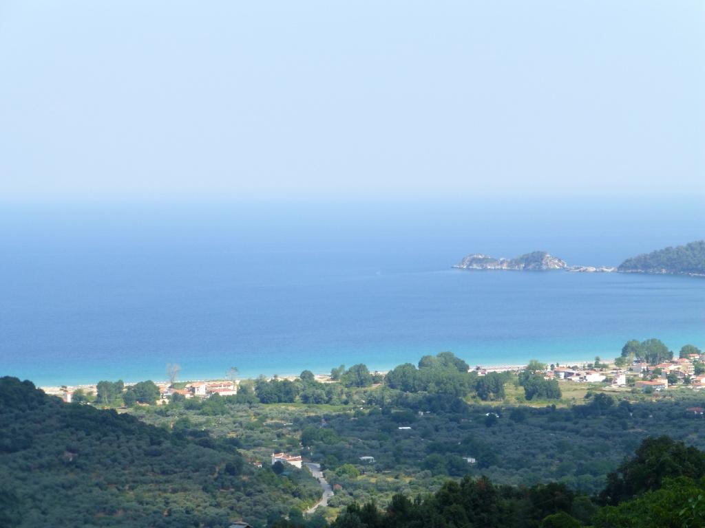 Greece, the Island of Thassos, Golden Beach, MiniTrain trip 62810