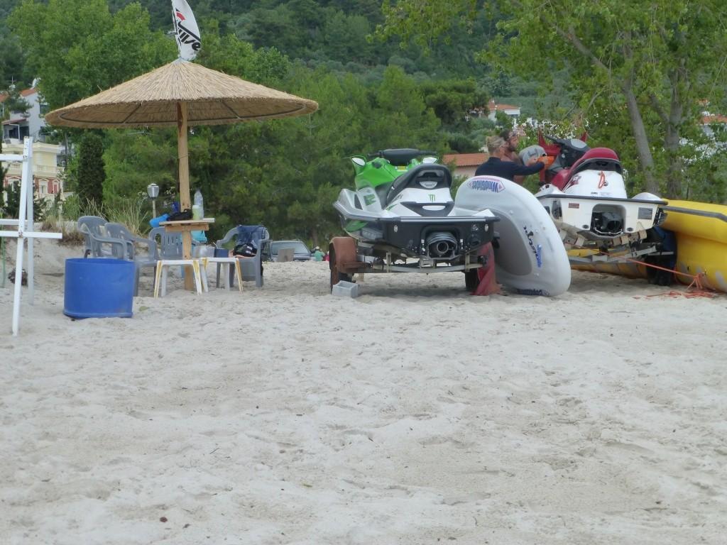 Greece, the Island of Thassos, Golden Beach walk 64611