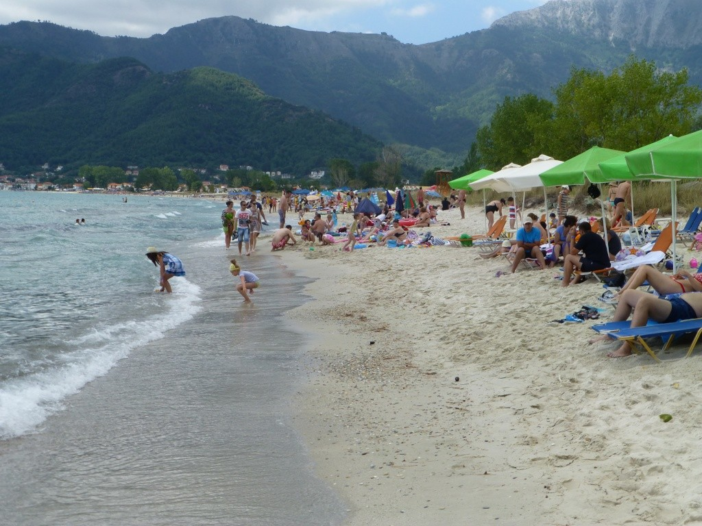 Greece, the Island of Thassos, Golden Beach walk 65110