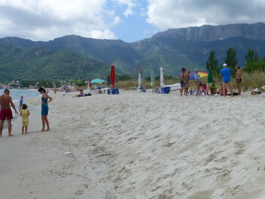 Greece, the Island of Thassos, Golden Beach walk 65410