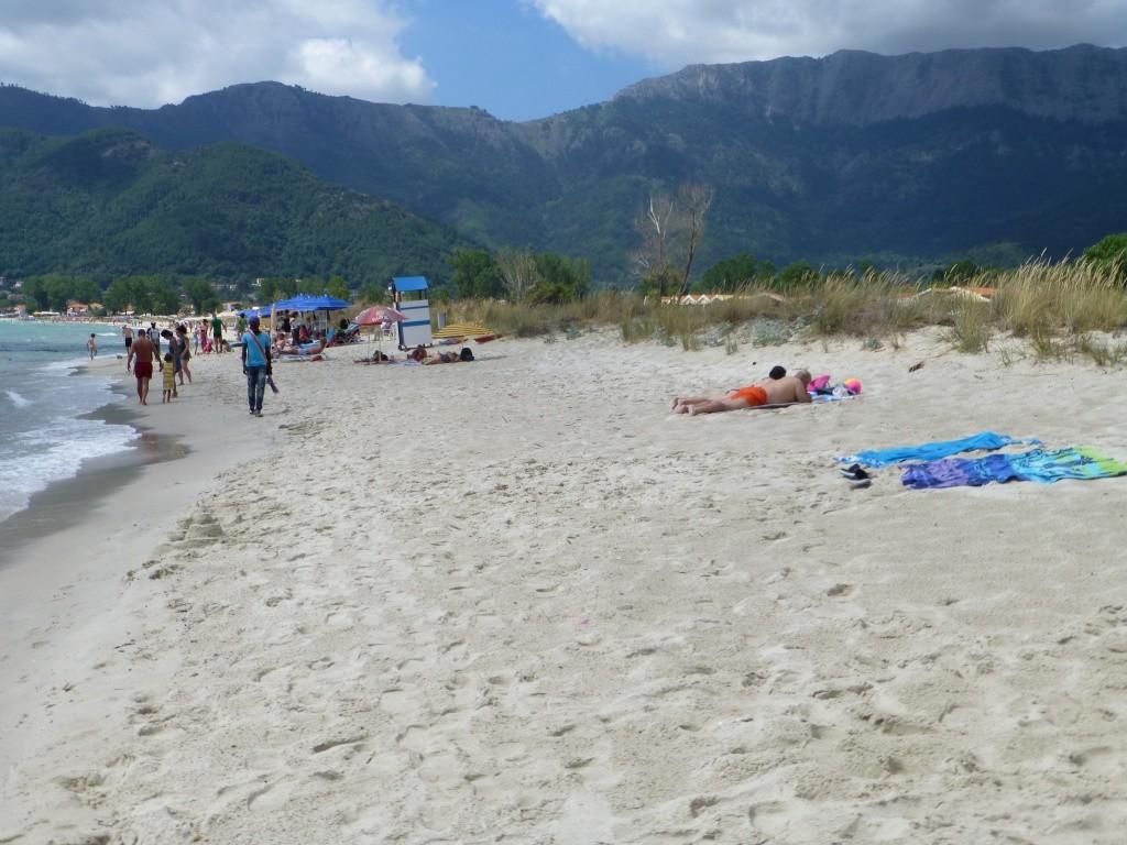 Greece, the Island of Thassos, Golden Beach walk 65610