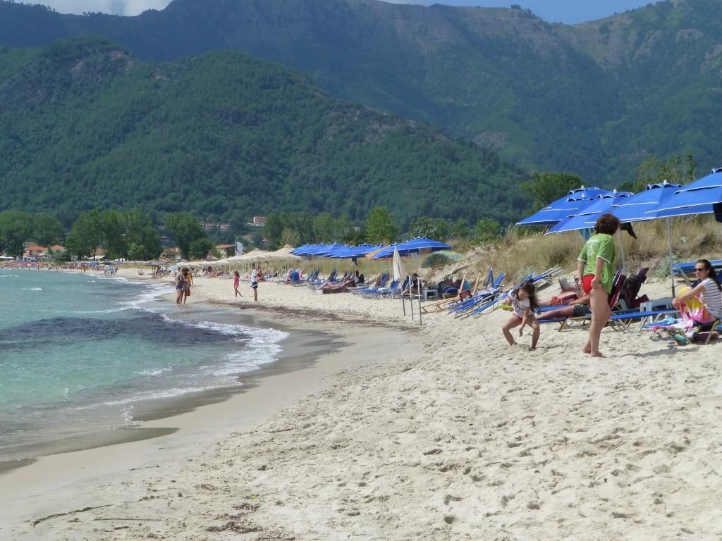 Greece, the Island of Thassos, Golden Beach walk 65710