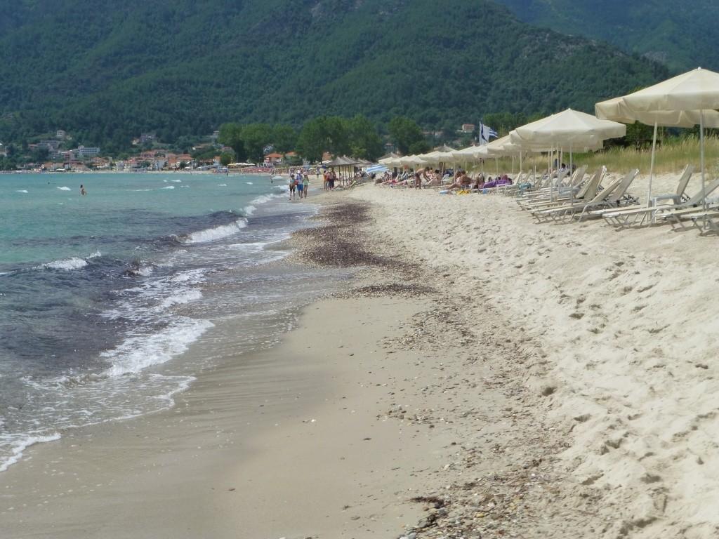 Greece, the Island of Thassos, Golden Beach walk 66010