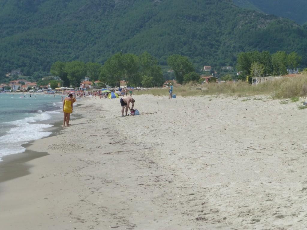 Greece, the Island of Thassos, Golden Beach walk 66210