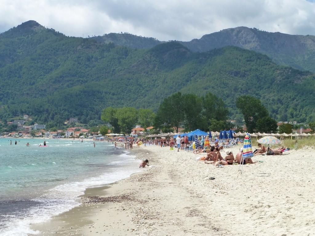 Greece, the Island of Thassos, Golden Beach walk 66410
