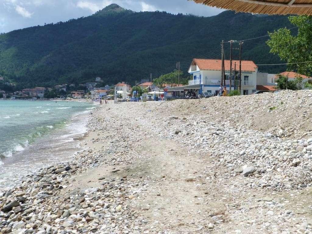 Greece, the Island of Thassos, Golden Beach walk 67310