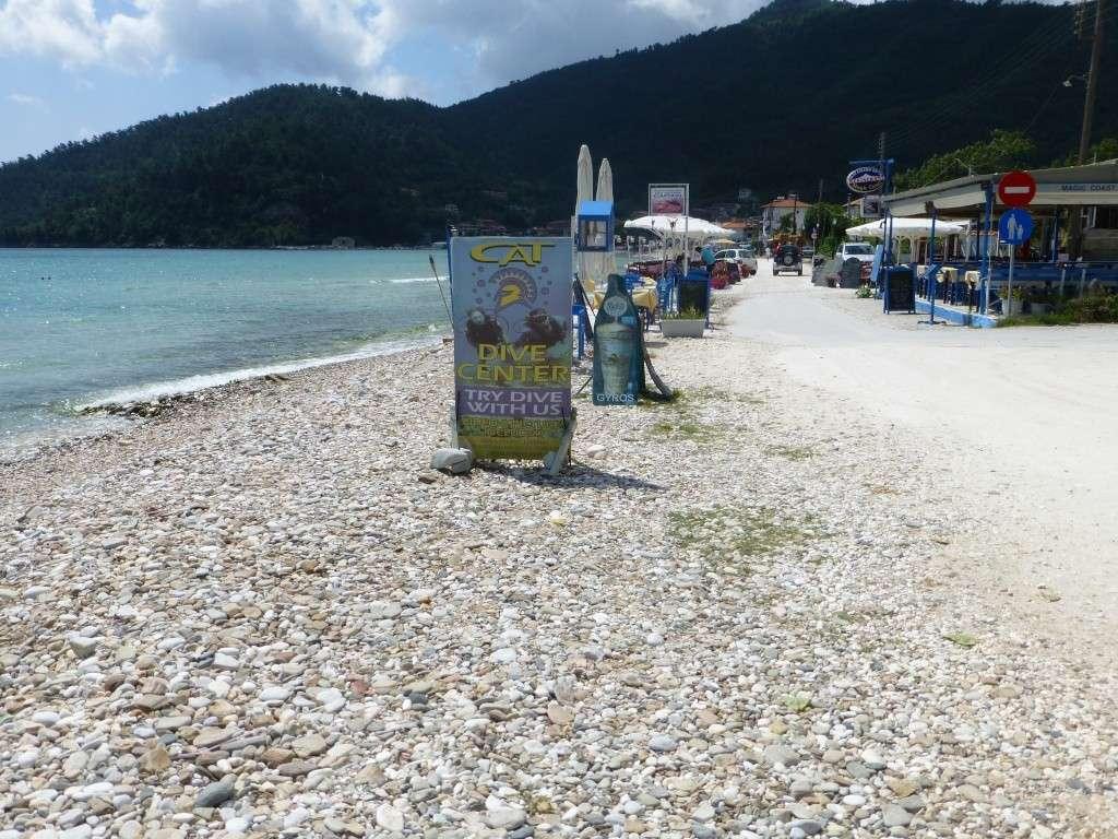 Greece, the Island of Thassos, Golden Beach walk 67410