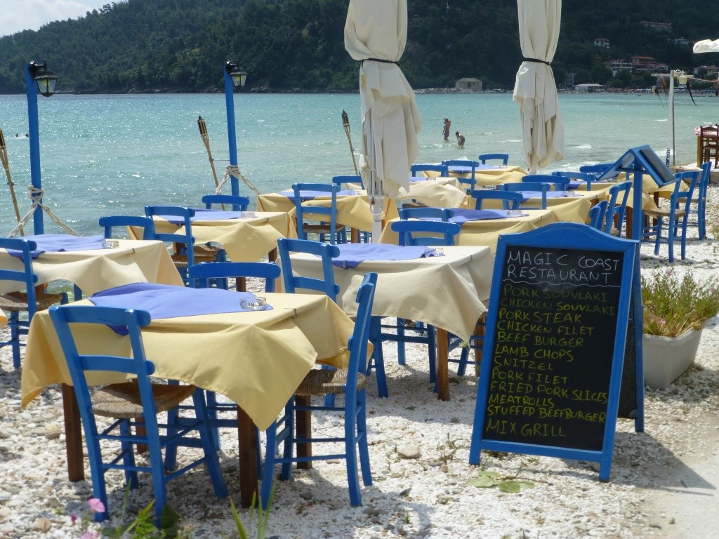 Greece, the Island of Thassos, Golden Beach walk 67610