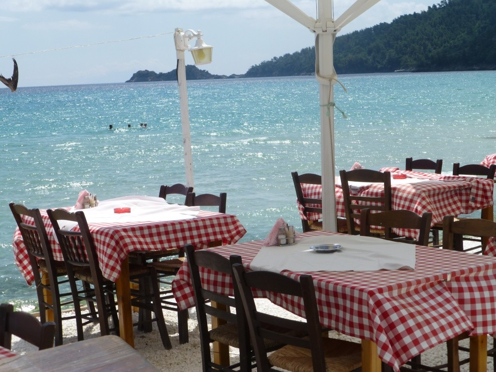 Greece, the Island of Thassos, Golden Beach walk 67810