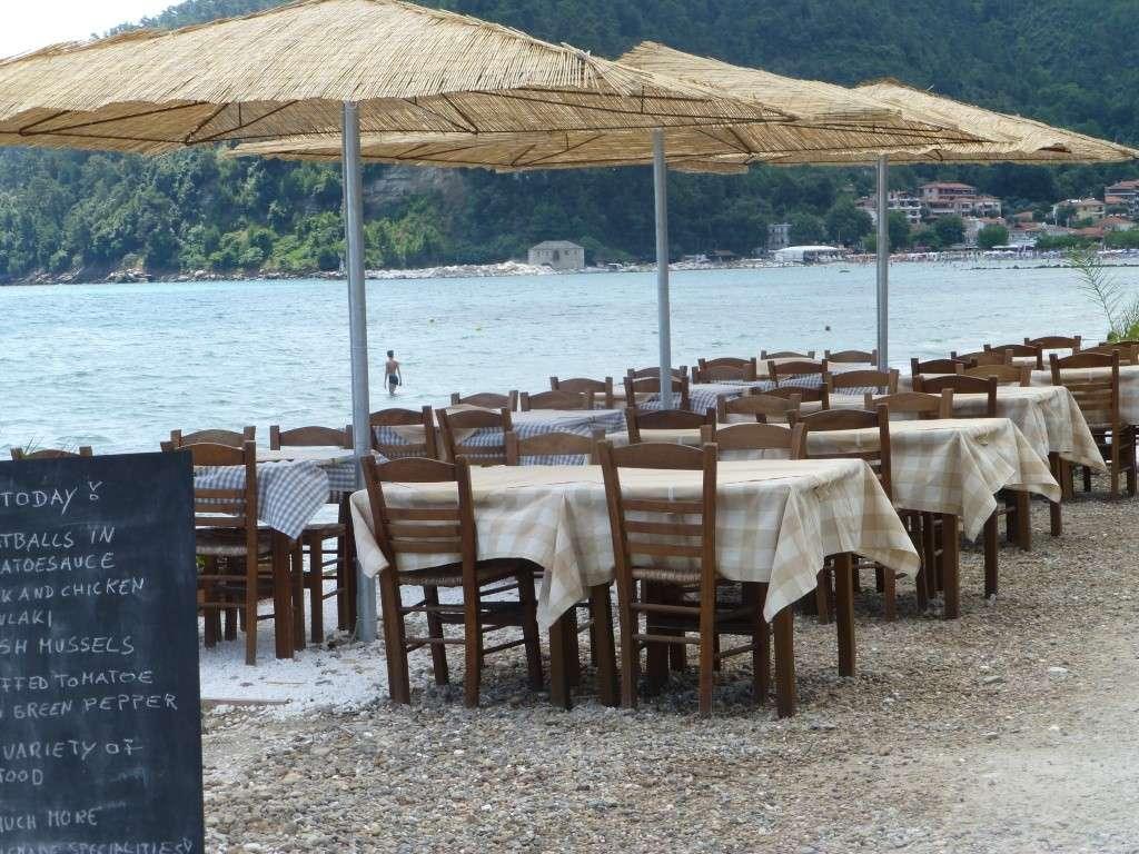 Greece, the Island of Thassos, Golden Beach walk 68010