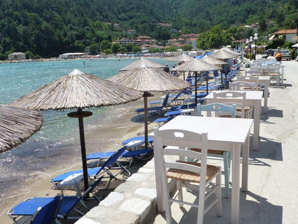 Greece, the Island of Thassos, Golden Beach walk 68910