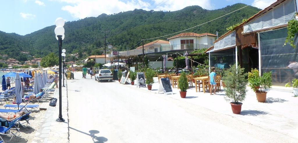 Greece, the Island of Thassos, Golden Beach walk 69010