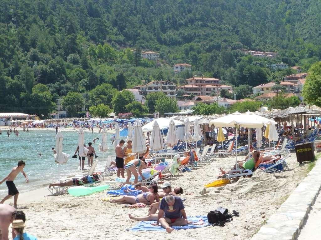 Greece, the Island of Thassos, Golden Beach walk 69110