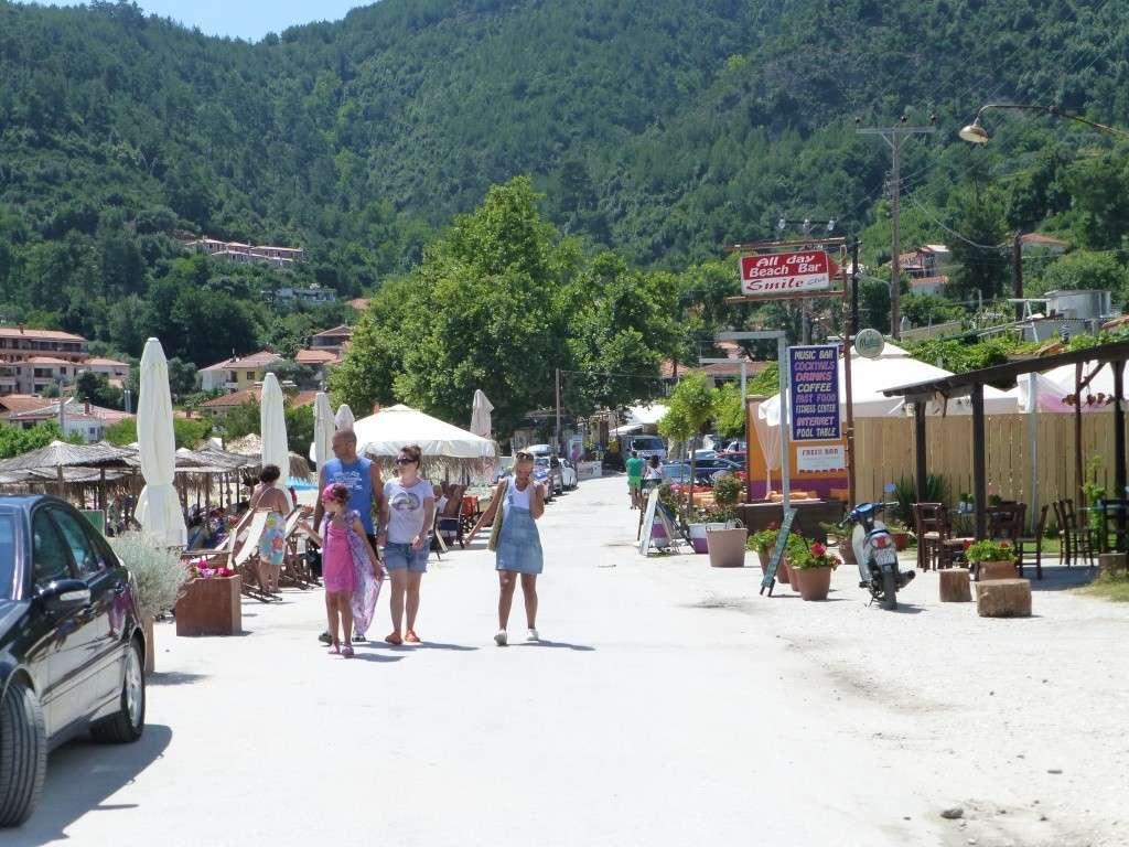 Greece, the Island of Thassos, Golden Beach walk 69210