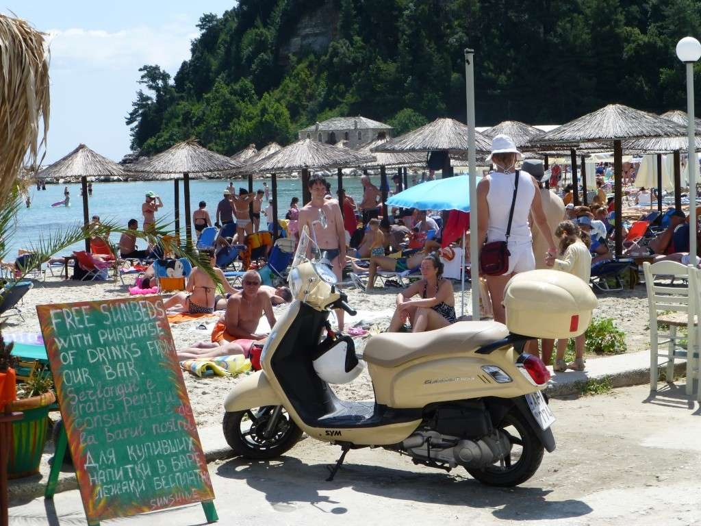 Greece, the Island of Thassos, Golden Beach walk 69310