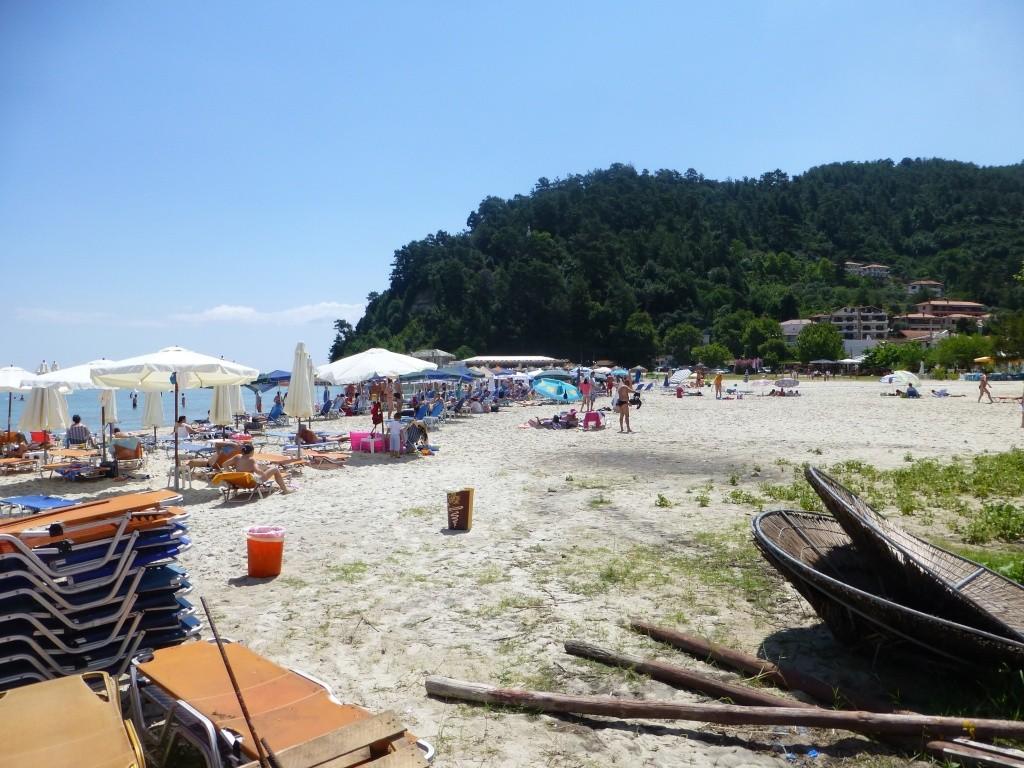 Greece, the Island of Thassos, Golden Beach walk 69510