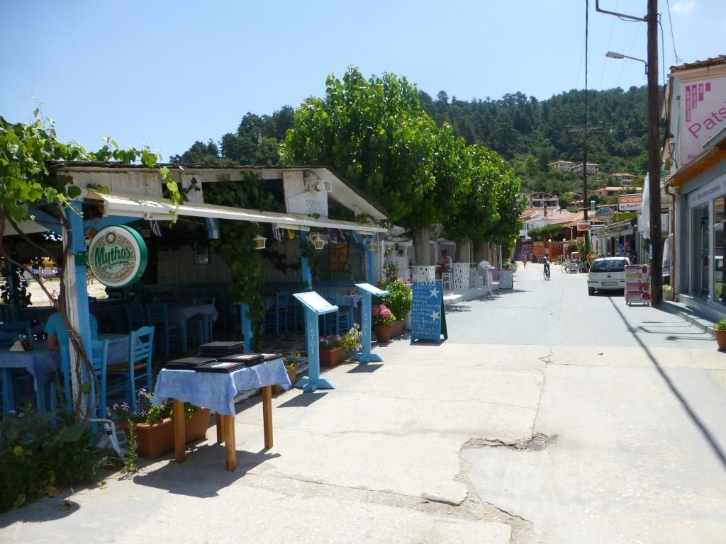 Greece, the Island of Thassos, Golden Beach walk 70110