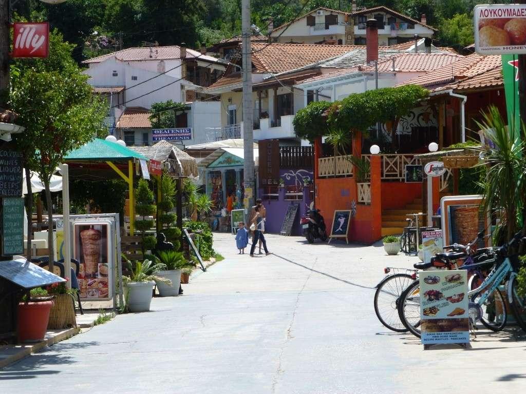 Greece, the Island of Thassos, Golden Beach walk 70210