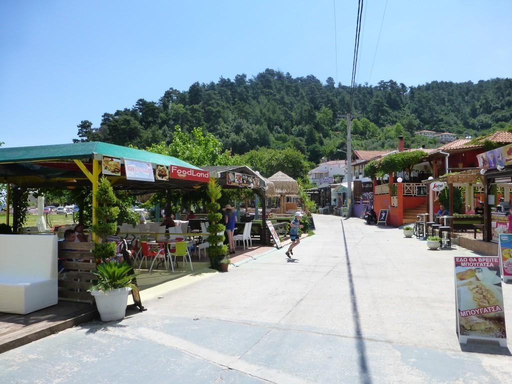 Greece, the Island of Thassos, Golden Beach walk 70310