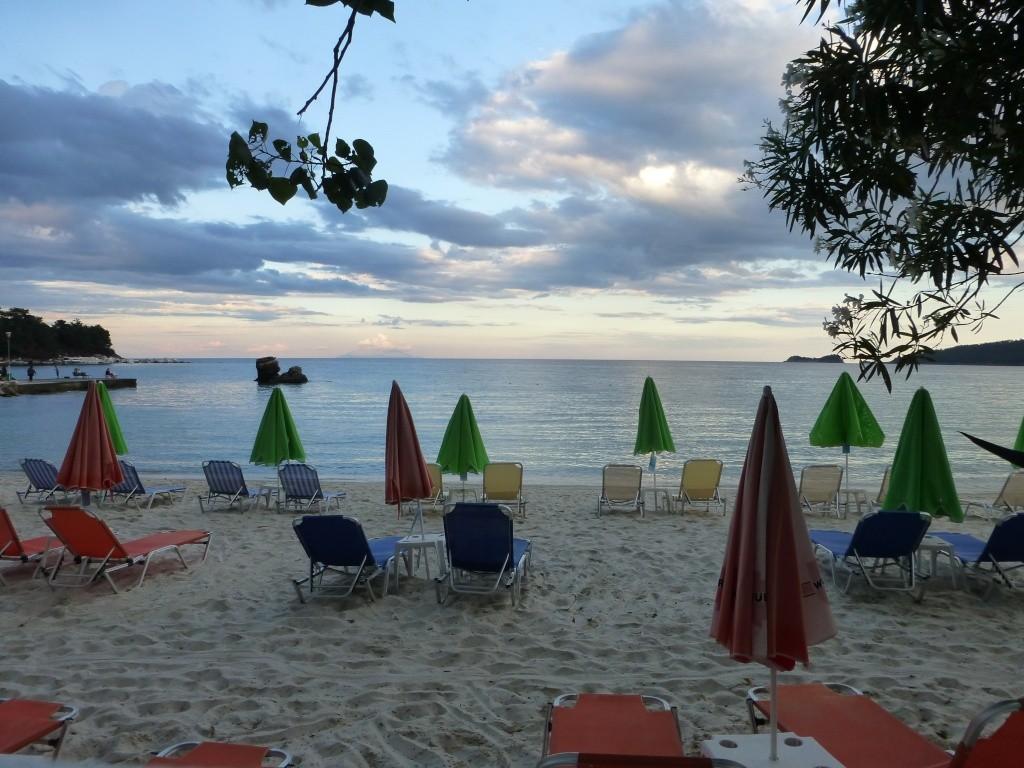 Greece, Island of Thassos, Golden Bay, 2013 74210