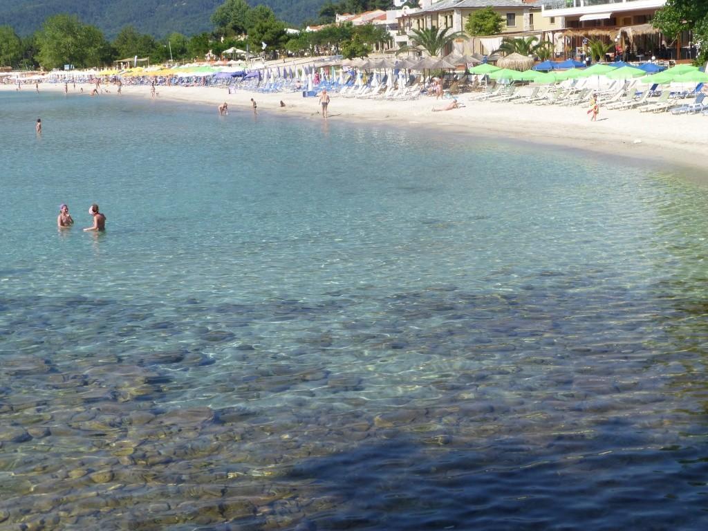 Greece, the Island of Thassos, Golden Beach walk 75110