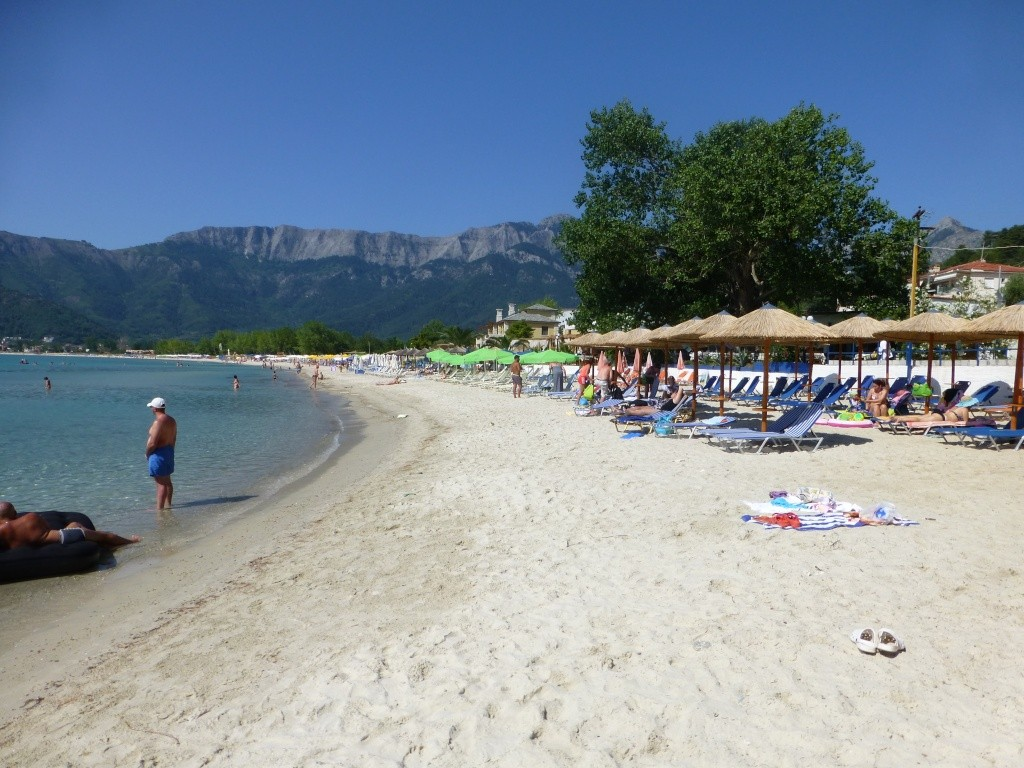 Greece, the Island of Thassos, Golden Beach walk 75310