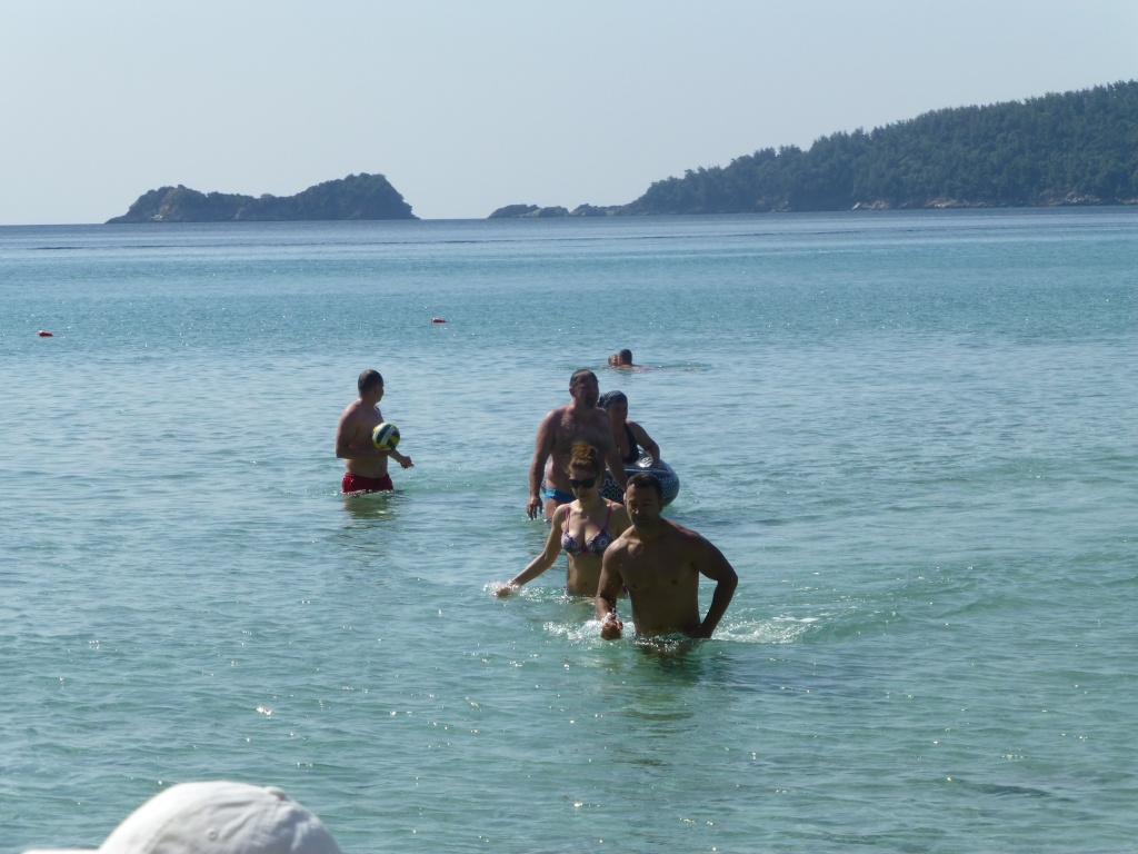Greece, the Island of Thassos, Golden Beach walk 75410
