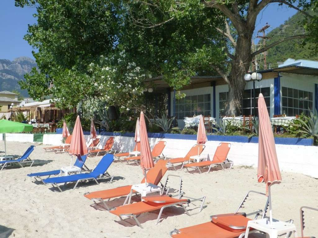 Greece, the Island of Thassos, Golden Beach walk 75610