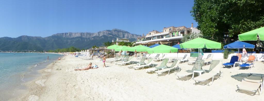 Greece, the Island of Thassos, Golden Beach walk 75810
