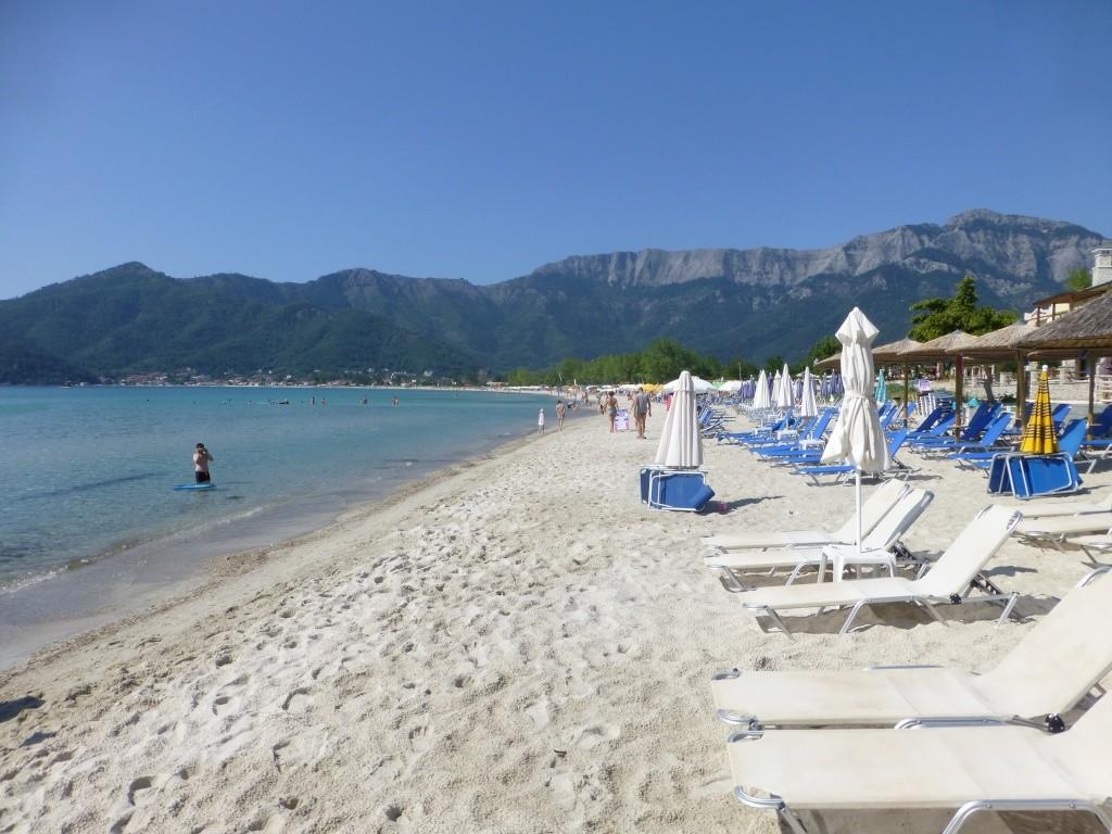 Greece, the Island of Thassos, Golden Beach walk 76110