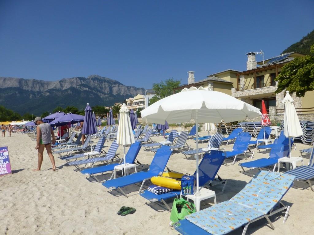 Greece, the Island of Thassos, Golden Beach walk 76210
