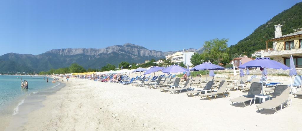 Greece, the Island of Thassos, Golden Beach walk 76610