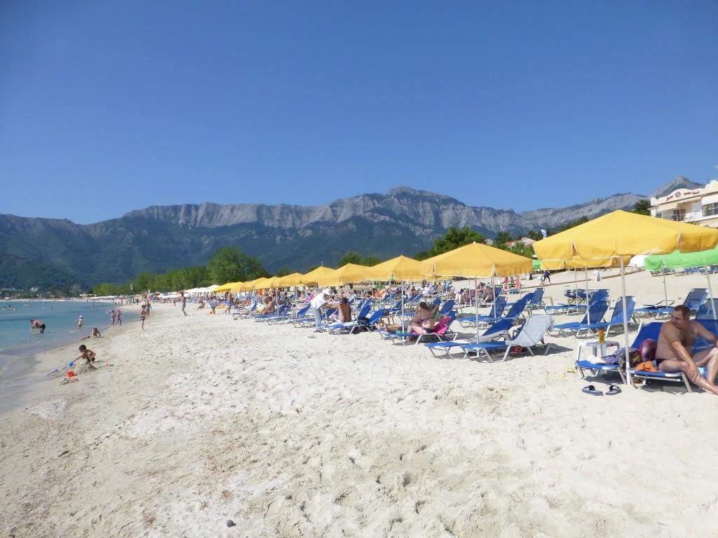 Greece, the Island of Thassos, Golden Beach walk 76710