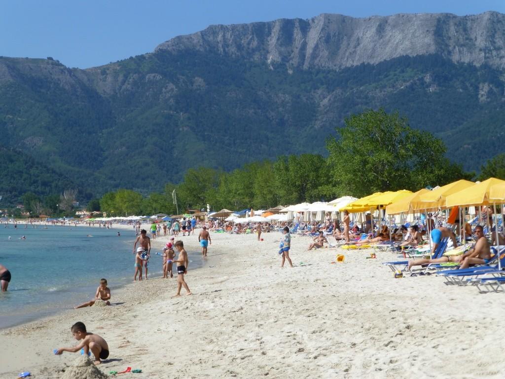 Greece, the Island of Thassos, Golden Beach walk 76810
