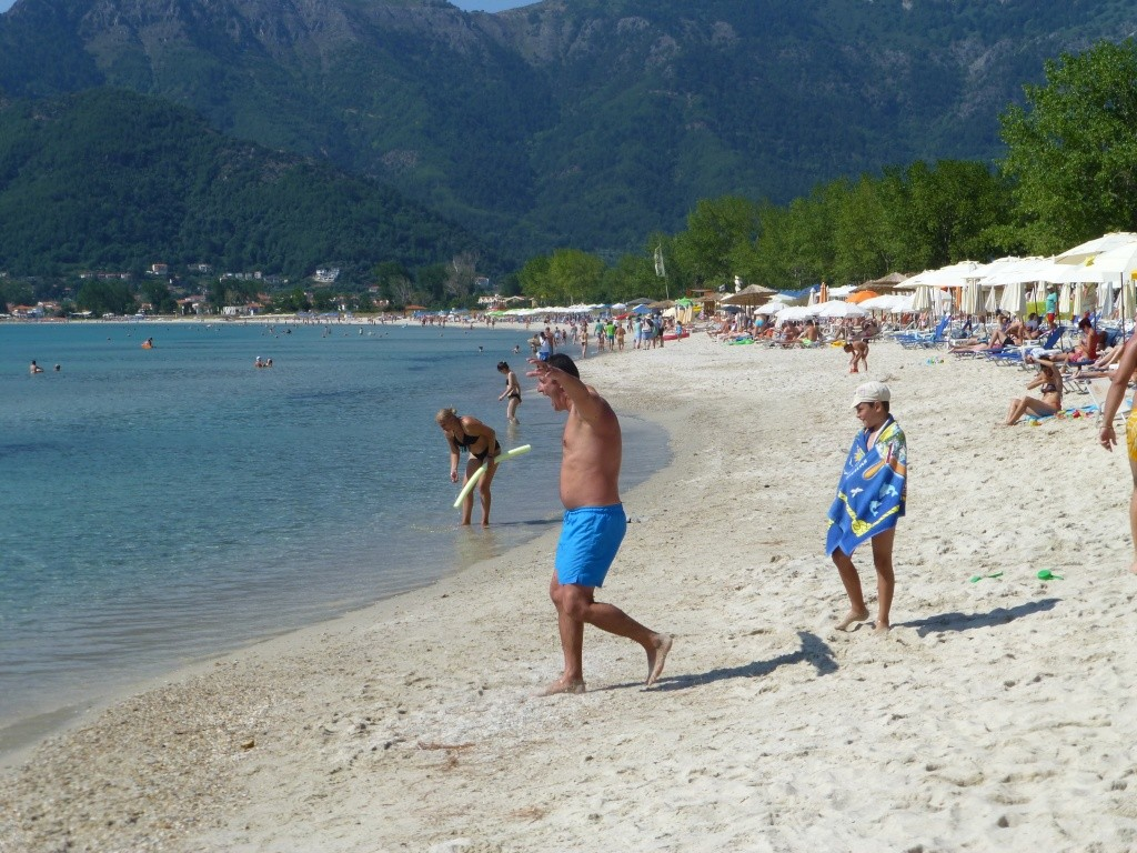 Greece, the Island of Thassos, Golden Beach walk 77110