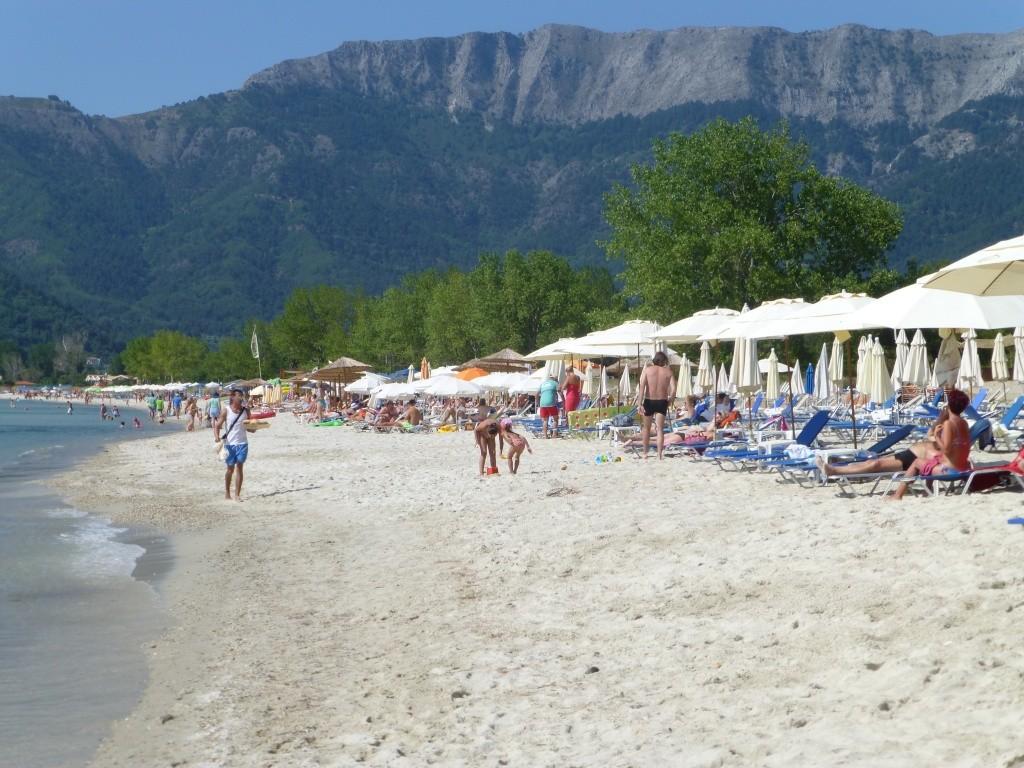 Greece, the Island of Thassos, Golden Beach walk 77210